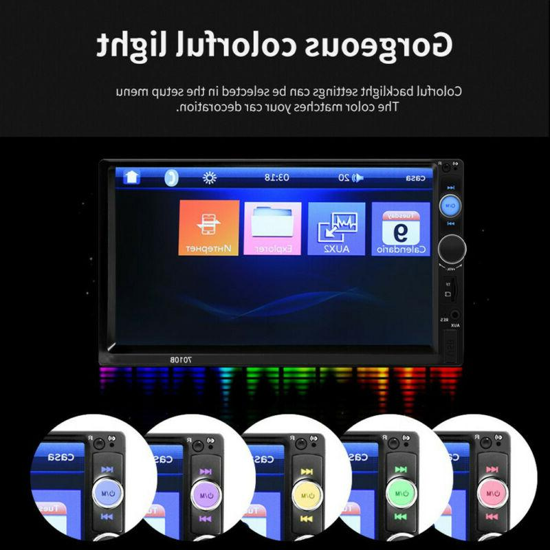 7 2 Stereo Radio TouchScreen Bluetooth