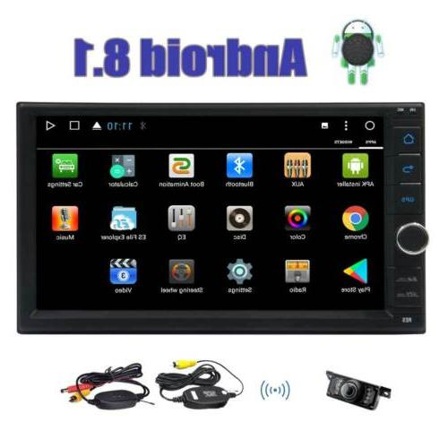 7 Android GPS Car Radio Stereo Wifi OBD2