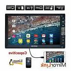 EinCar 7 inch Double Din Car Stereo MP5 Player with Capaciti