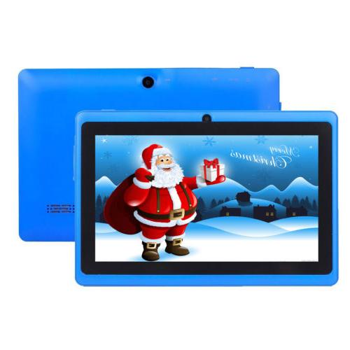 """7"""" 16GB Android Dual Camera WiFi Education Gift Boys"""