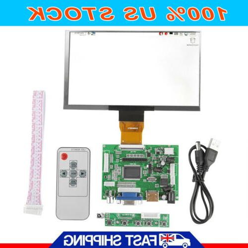7 inch lcd 1024 600 for raspberry