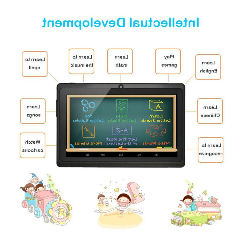 7'' Core HD Kids Tablet Android Camera WiFi