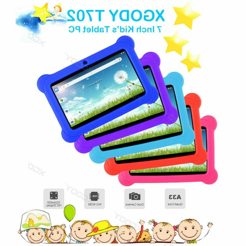 7'' inch HD Kids Android 16GB Camera