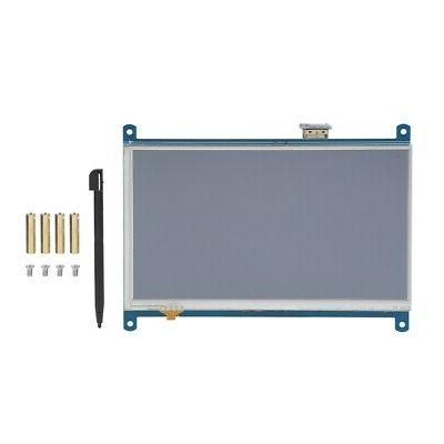 """7"""" Resistance Touch Screen LCD 1024x600 HDMI Pi"""