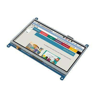 """7"""" Touch Screen LCD 1024x600 For Pi"""