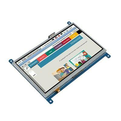 """7"""" Inch Resistance Screen LCD Display GPIO 1024x600 HDMI For Pi"""