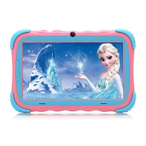 iRULU 7 Inch Tablet PC for Kids Android 7.0 4-Core 16GB Dual