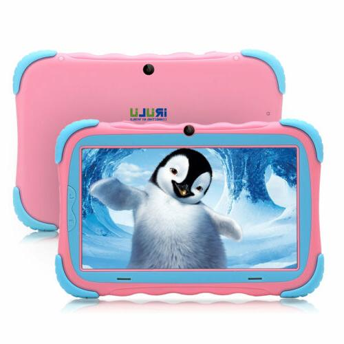 iRULU Tablet PC 7.0 4-Core 16GB Cameras PINK