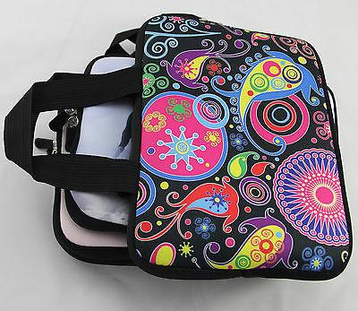"""7"""" inch Laptop Ebook Sleeve Pouch Case Bag Handle"""
