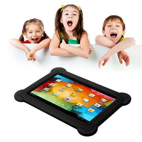 For Tablet Universal Kids Rubber Soft Silicone PC