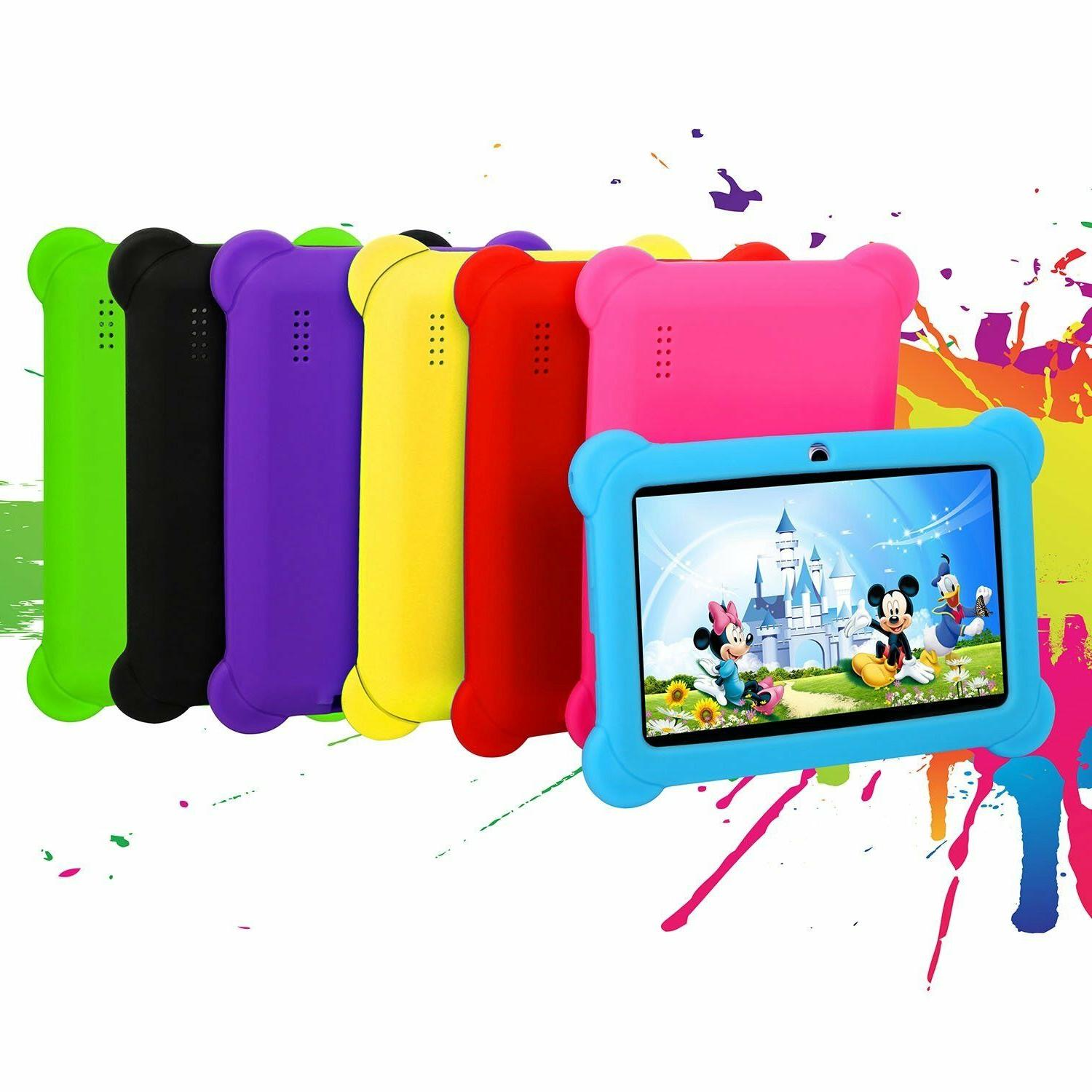 """For 7"""" Inch Tablet Kids Shockproof Case Rubber Soft Silicone"""