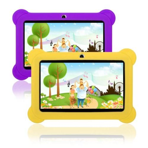 For Inch Tablet Universal Kids Shockproof Rubber PC