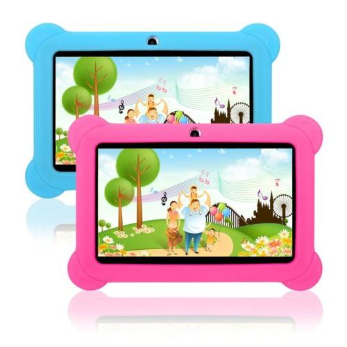 "For 7"" Tablet Universal Shockproof Rubber Soft PC"
