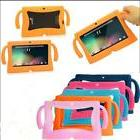 For 7 inch Tablet Universal Kids Silicone Case Shockproof Co