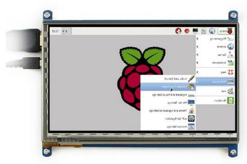 LANDZO 7 Touch Screen for 3 B Pi 2