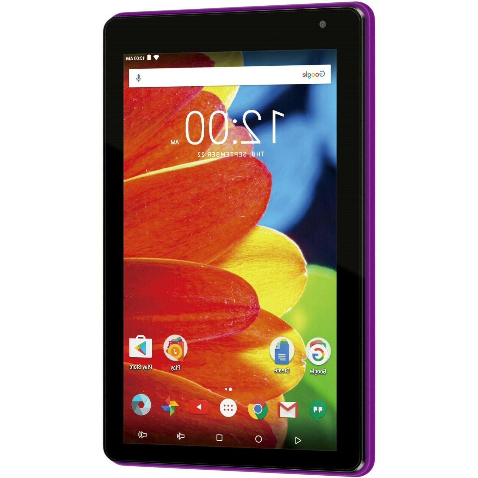 7 Inch Touchscreen Tablet Bluetooth Jack