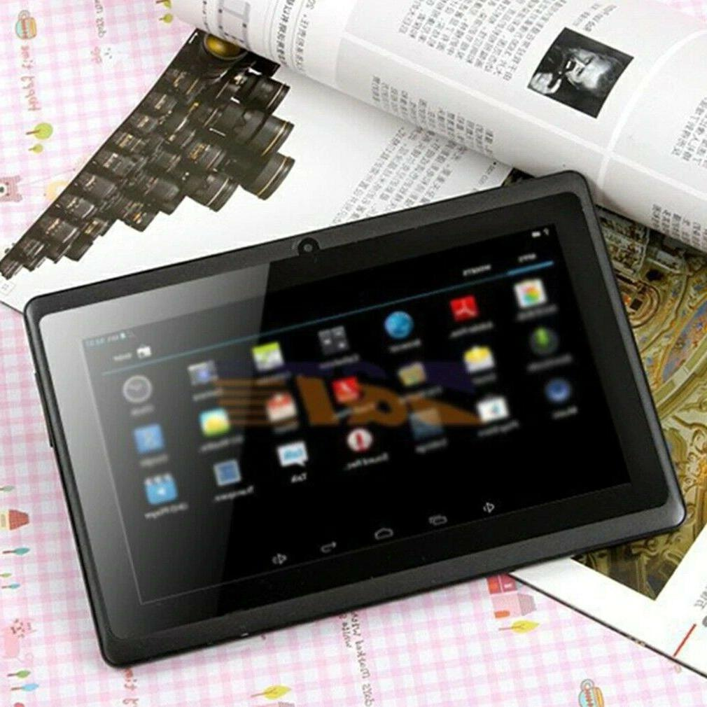7 Inch Tablet Computer Quad + Android Processor