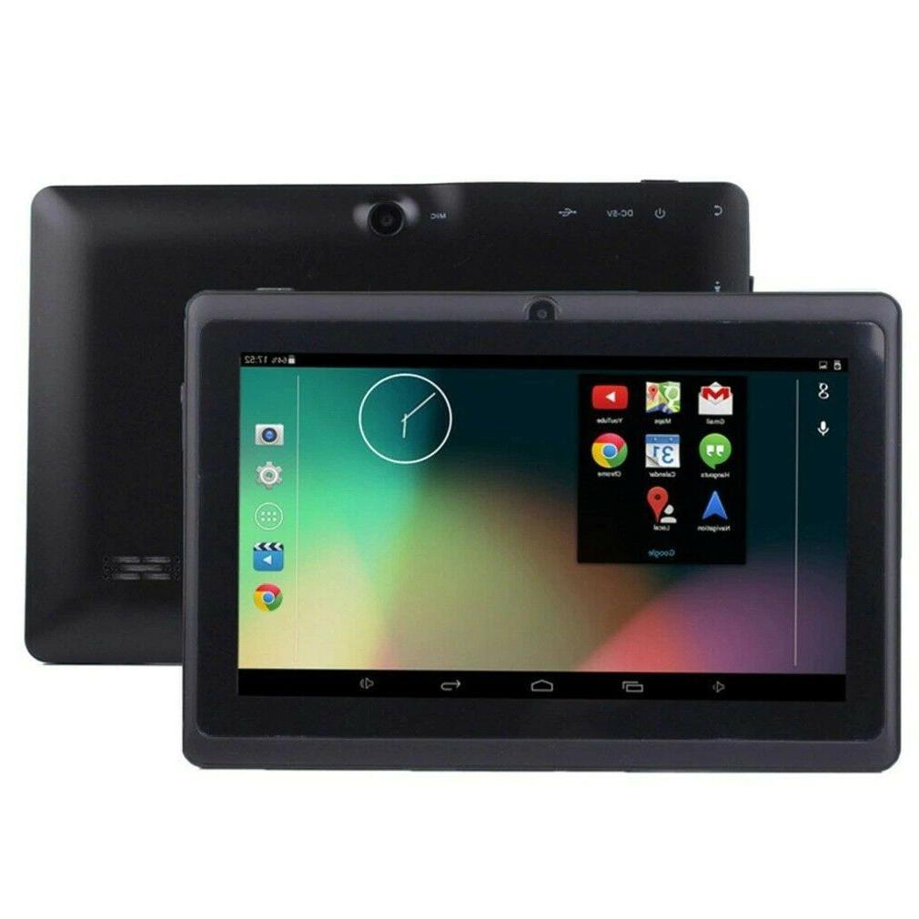 7 inch wi fi tablet computer quad