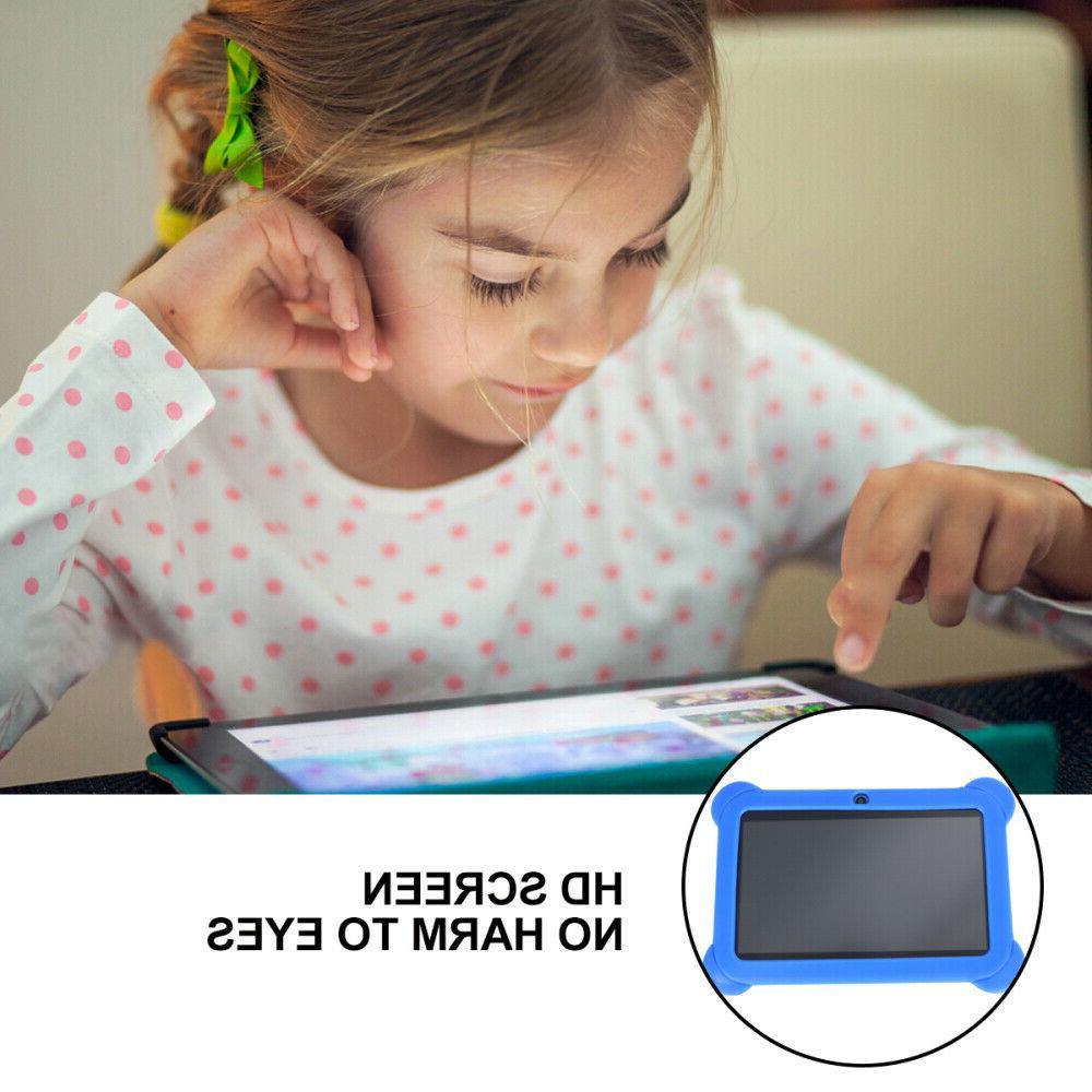 """7"""" Kids Tablet Android Dual WiFi Game Gift Girls"""