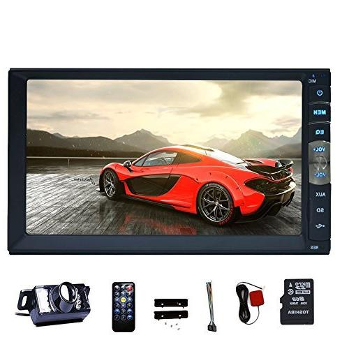 7 touch double din car