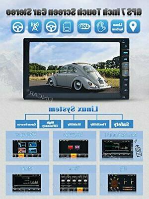 EINCAR Touch Double Din MP5 Player in Dash GPS