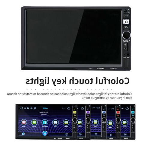 7inch Android 2Din Car GPS Wifi OBD Link