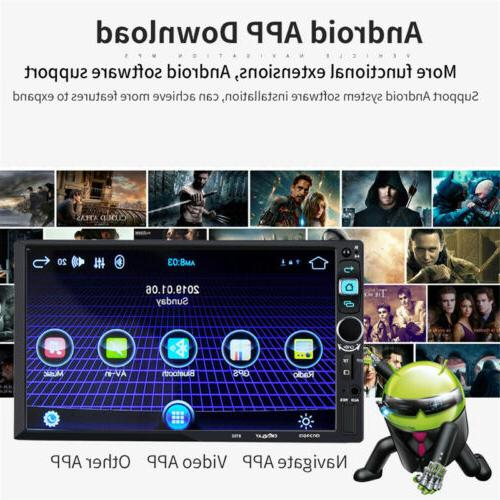 7inch Android 2Din GPS Wifi OBD Link 3G/4G