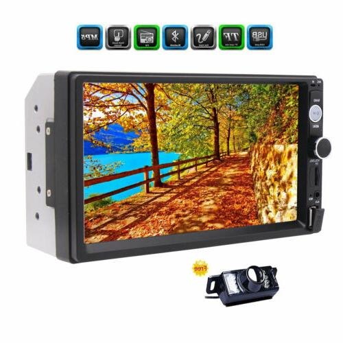 7Inch Digital Screen HD Car Radio + Camera