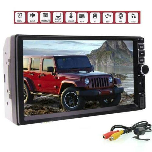 7inch digital capacitive touch screen hd car