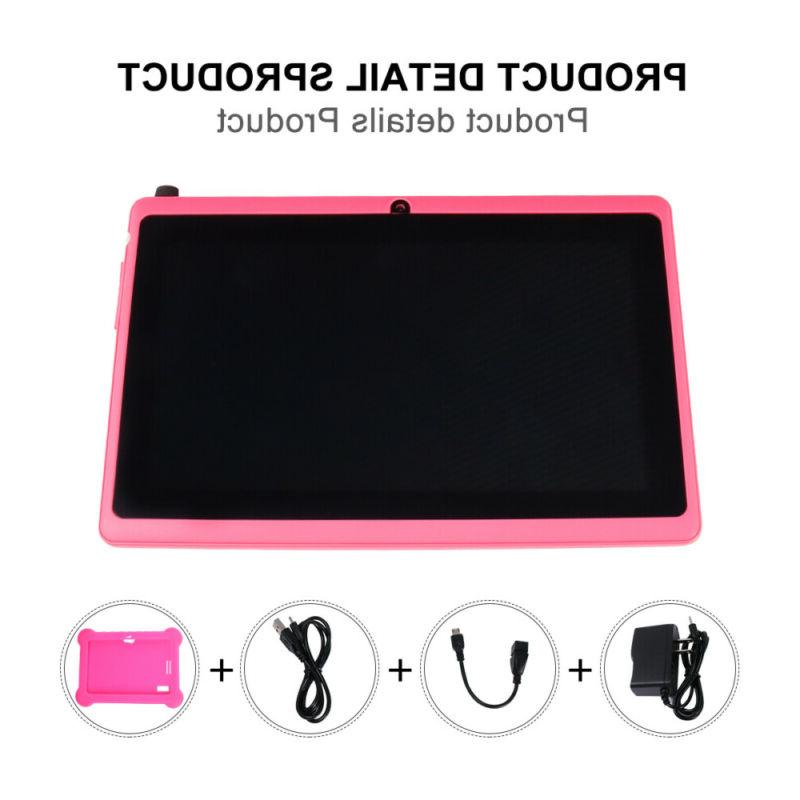 7inch PC Quad Camera Wifi Gifts For Kids Study