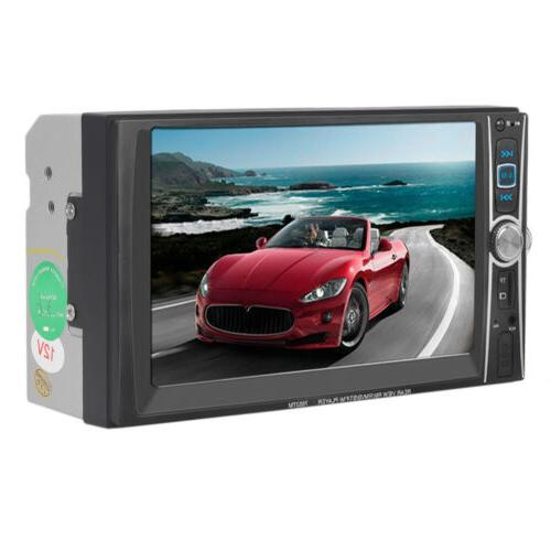 7INCH HD DIN Touch screen MP3 DVD