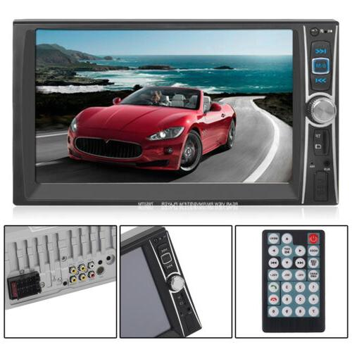 7INCH HD DIN Stereo Bluetooth Touch screen MP5 DVD Player 8N