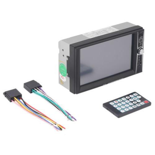7INCH HD Double 2 DIN Car Touch DVD Player