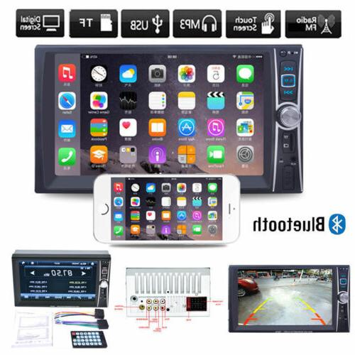 7INCH Double DIN Touch screen DVD FM 8N
