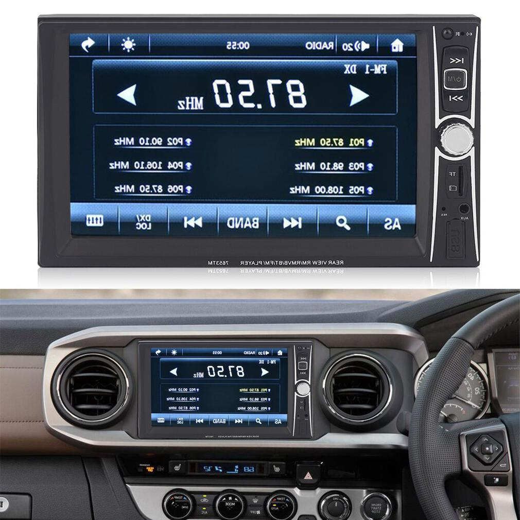 7inch hd double 2 din car stereo