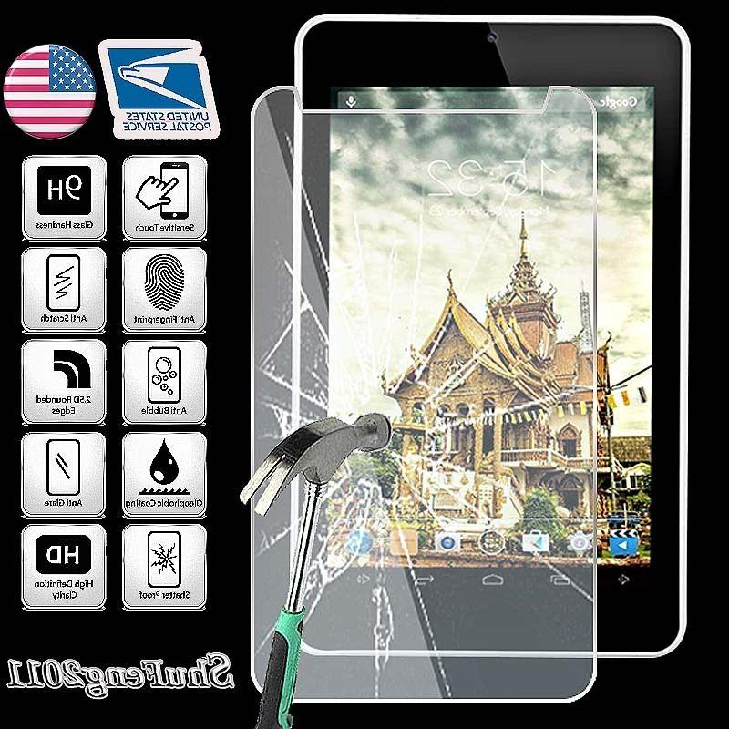 Tempered Glass Screen Protector For iRULU eXpro X4 7 inch Ta