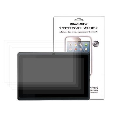Transwon Dragon Touch Y88X Plus Screen Protector, 4 Pack Ult