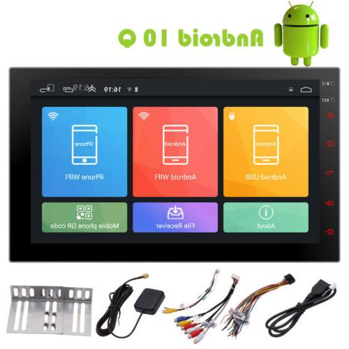Android 10 Inch Car Stereo Player GPS Navi Bluetooth