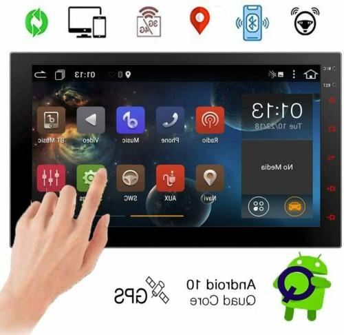 Double Din Car Stereo Android 10.0 Car Radio Bluetooth 7 Inc