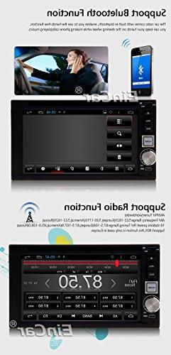 Android 5.1 GPS Capacitive Screen Bluetooth FM AM PC DVD Player Car 2 Head Aux