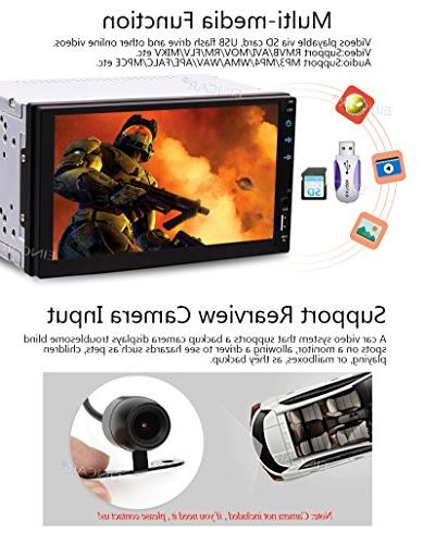 Android 6.0 Double GPS Satellite Din Dash GPS Hands Colorful