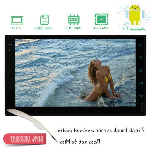 Android 7.1 7 Touch Screen Stereo WiFi/3G/4G GPS Mirror-Link