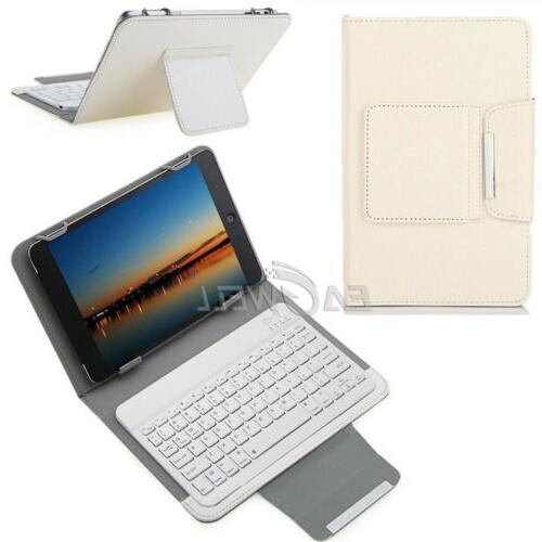 """For Android 7"""" 10"""" 10.1"""" inch PC Leather Keyboard Cover"""