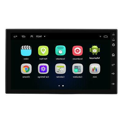 Android GPS Navigation Player Double Inch