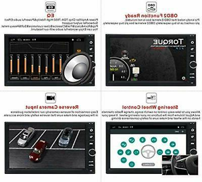 Android Double Car Stereo,Car Radio 7Inch Touch Screen