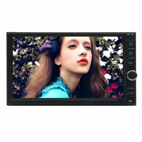 "Android Car Stereo Navigation Radio Double 7"" In Dash"