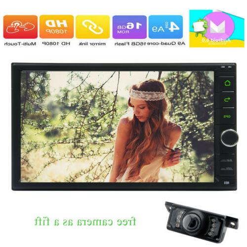 Android HD Car Stereo Player WIFI Link OBD+Camera