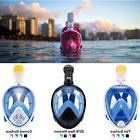 Anti-Fog Full Face Mask Swimming Breath Dry Diving Goggle Sn