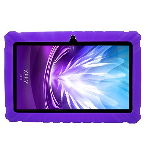 Transwon Case with Kids Tablet Android Dragon Touch Y88X Kids Tablet K2 -