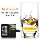 For Apple iPhone 6 6S 4.7inch Wallet Flip Phone Case Cover V